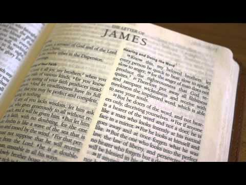 Rev. Kevin R. Kurian - Sermon on James - Word and the Mirror