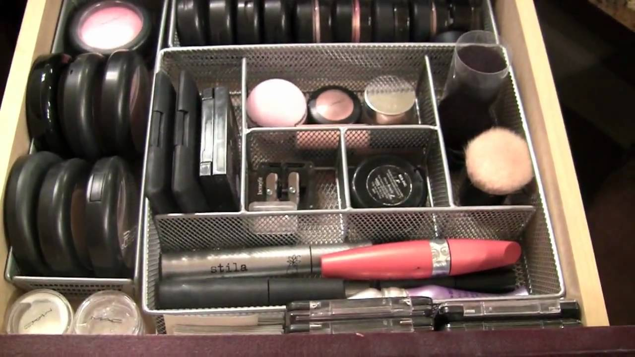 Inside My Make Up Drawers and Organizing Tips - YouTube