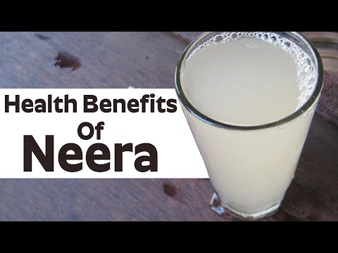 What are The benefits of drinking Neera.? - Top 10 Health Benefits of Neera | Dr. CL Venkata Rao