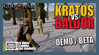 BETA / DEMO KRATOS VS BALDUR, IDEIAS DESCARTADAS, PESO DA PONTE DO LAGO DOS 9 E MAIS [God of War]