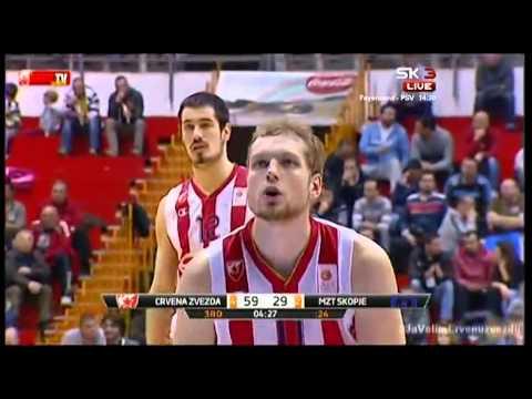 Crvena zvezda Telekom : MZT | Cela utakmica [26. kolo ABA lige, 22.03.2015.]