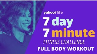 Jillian Michaels 7-Minute Fitness Challenge, Day 1: Total Body Workout | YahooLife