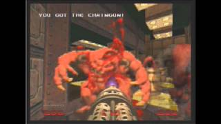 Doom 64 Nintendo 64 Gameplay