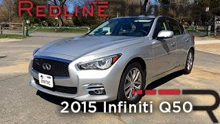 2015 Infiniti Q50 – Redline: Review