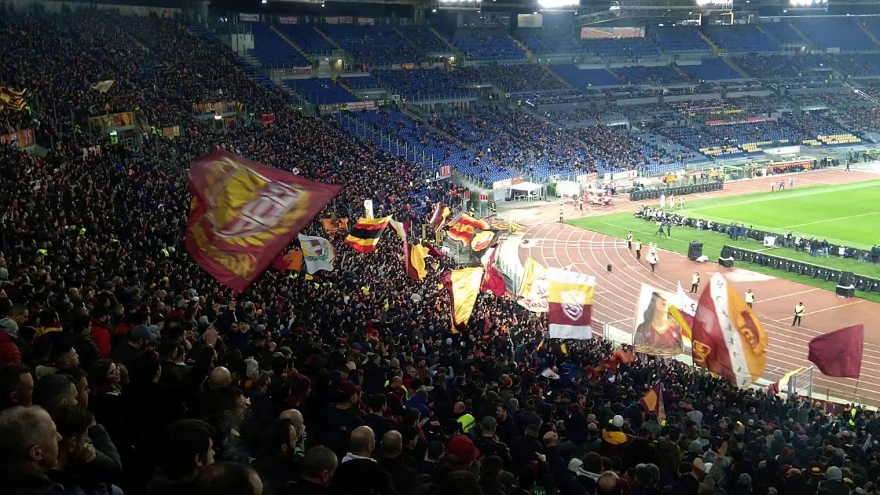 Roma Lecce 2019/20 Forza Roma alé