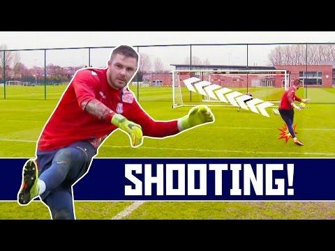 Tubes vs Jack Butland | Shooting and Saving Challenge!