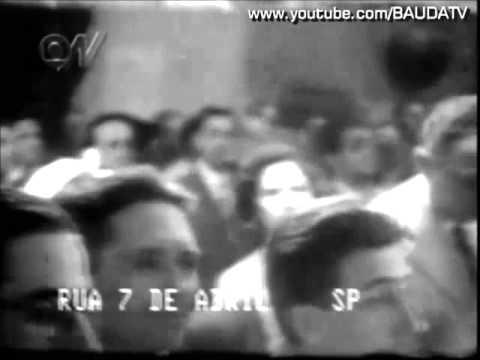 Inauguração da TV brasileira