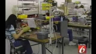 hubzone aerotel wire harness wkmg orlando interview 5may09