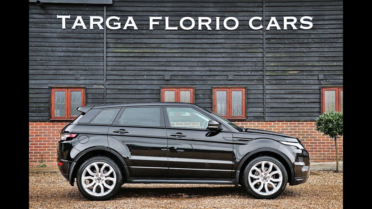 Range Rover Evoque Sd4 Auto cars