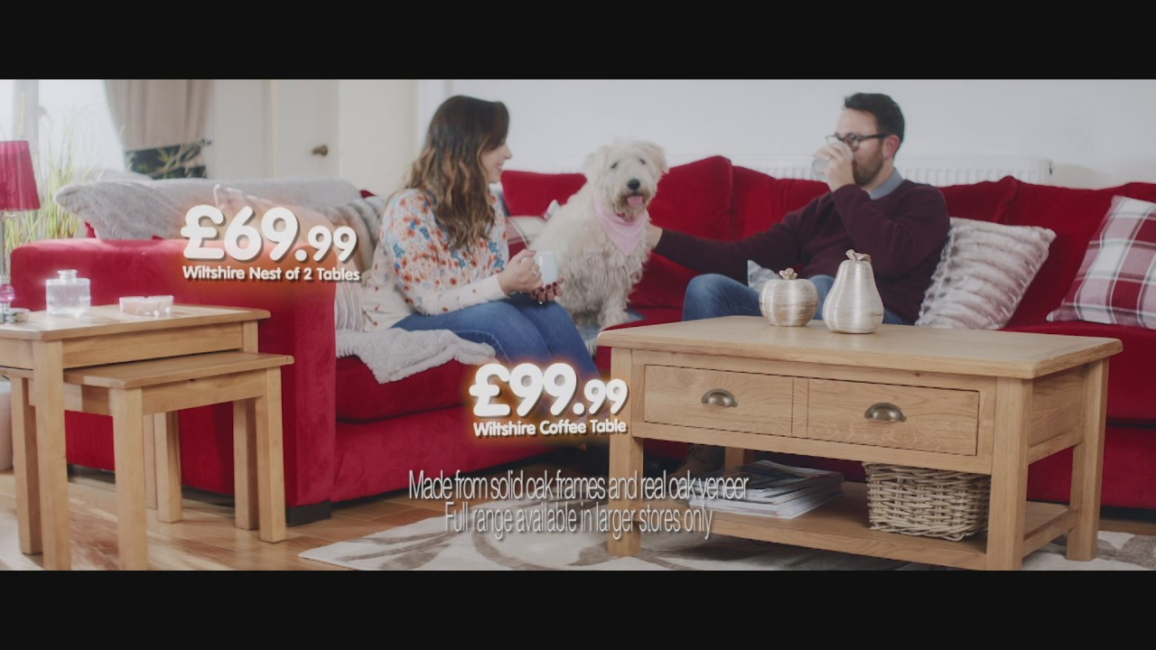 Furniture Village Advert 2015 b&m television advert - furniture - youtube