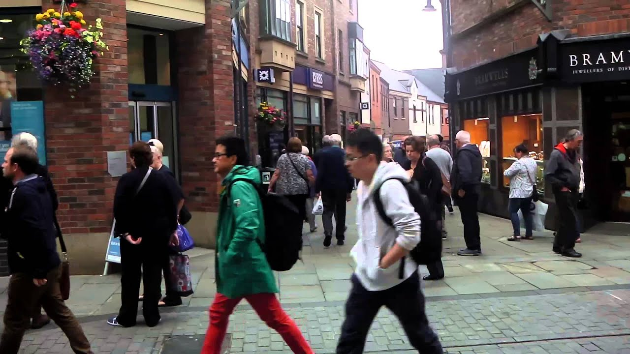 City Centre Durham Youtube