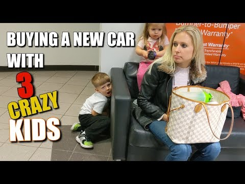 Buying a New VW Atlas with Three Crazy Kids