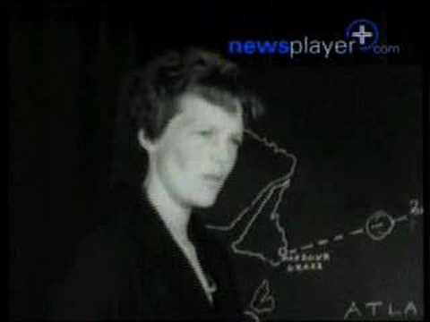 NewsPlayer - Amelia Earhart