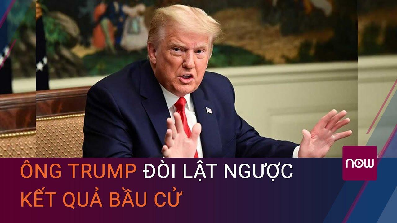 Bầu cử Mỹ 6/12: Ông Trump gọi điện cho Thống đốc Georgia, đòi lật ngược kết quả bầu cử? | VTC Now