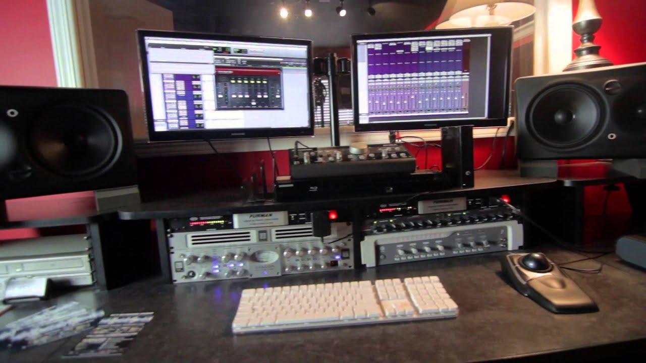 Studio b music recording studio youtube for Music studio design software