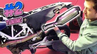 Sportauspuff für mein Motorrad! 😏