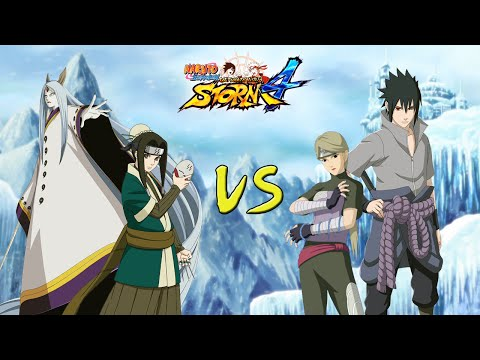Naruto Shippuden Ultimate Ninja Storm 4 - Ice Style VS Fire Style  