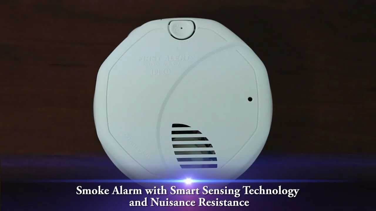 first alert smoke alarm with smart sensing technology and nuisance resistance sa320cn unboxing - First Alert Smoke Alarm