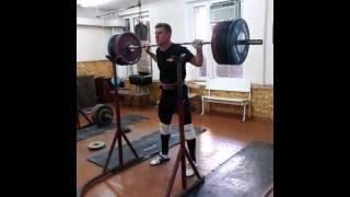 180kg.x2 приседание