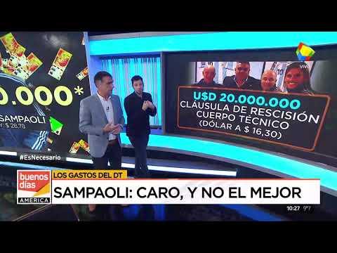 Todos los gastos de Sampaoli
