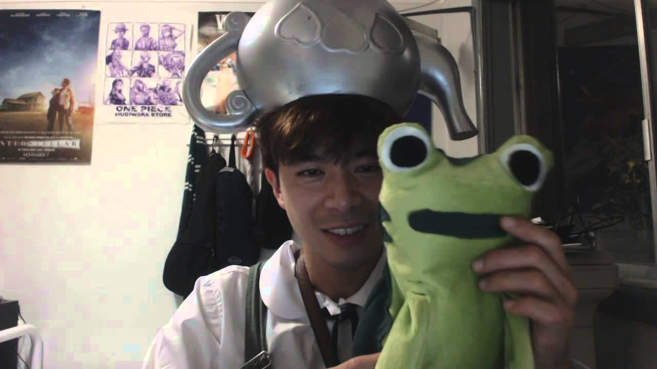 vlog greg over the garden wall cosplay and i made a soft toy frog jason funderberker - Over The Garden Wall Cosplay