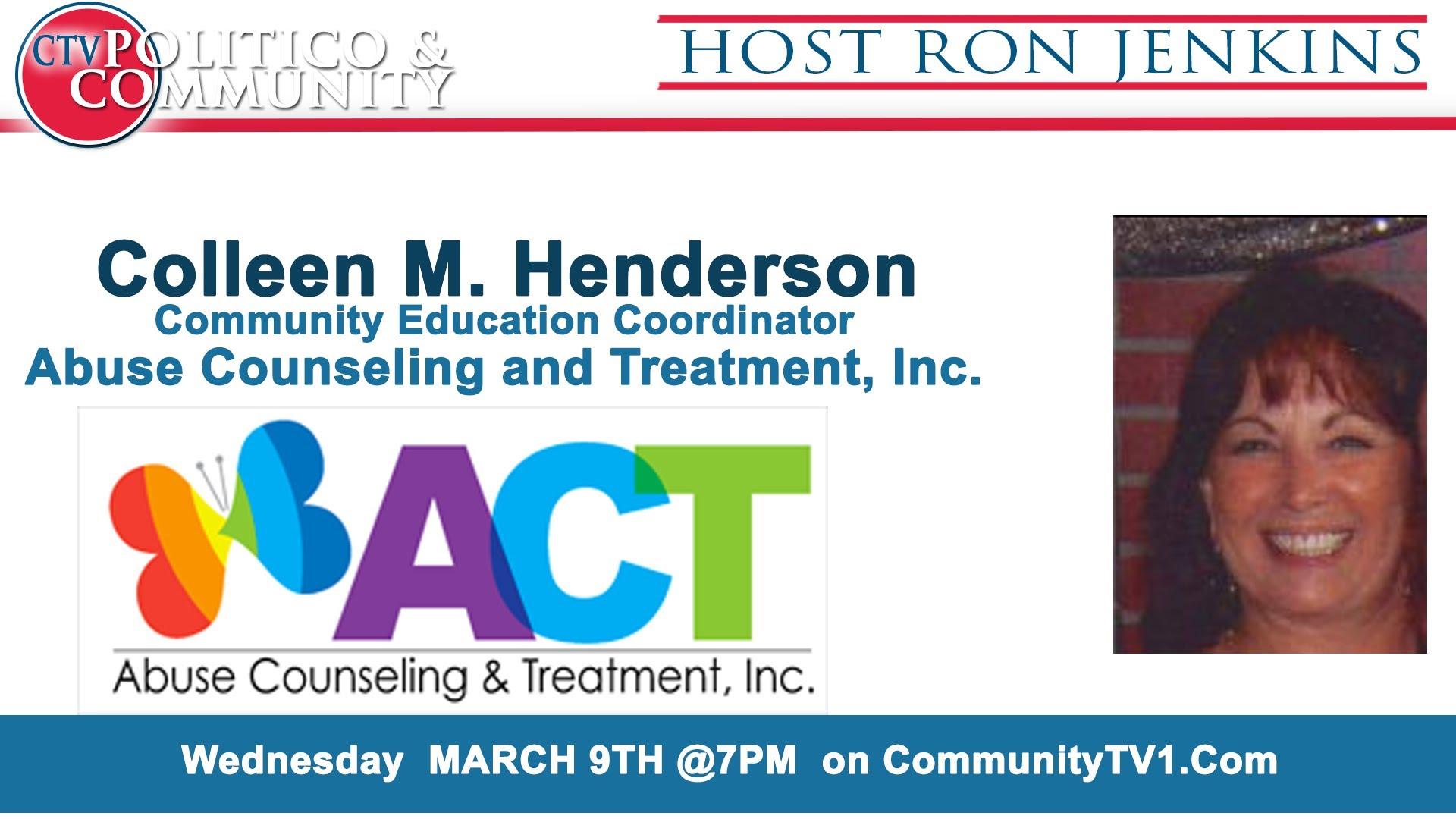 3-9-2016 CTV Politico & Community- Studio Guest: Colleen M. Henderson