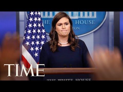 Press Briefing: Sarah Huckabee Sanders & National Security Adviser H.R. McMaster   LIVE   TIME