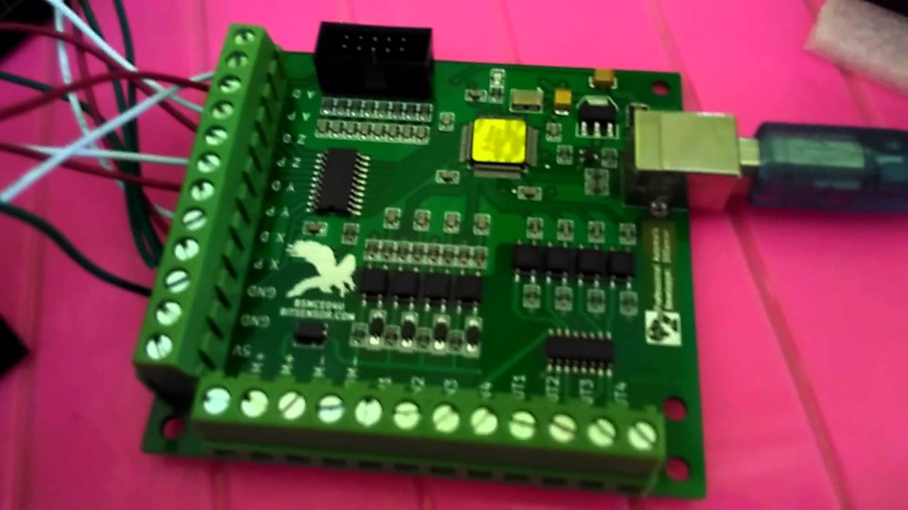 mach3 cnc board wiring diagram [ 1280 x 720 Pixel ]