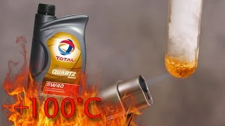 Total Quartz 9000 5W40 Jak czysty jest olej silnikowy? Test powyżej 100°C