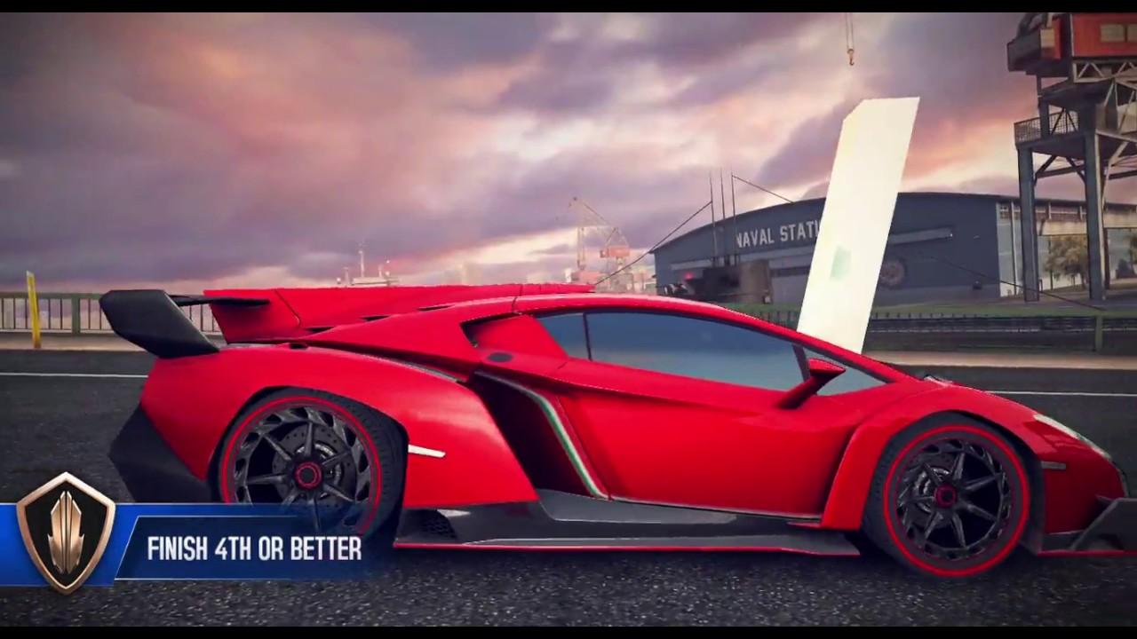 asphalt 8 multiplayer 2017 lamborghini veneno epic stunts, fail and
