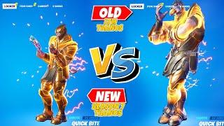 OLD vs NEW THANOS Fortnite!..