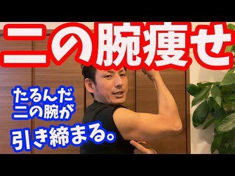 【二の腕痩せ】たるんだ二の腕に効く 脂肪撃退法【大分市 腰痛治療家 GENRYU ( 安部元隆 )】