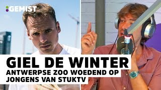 Giel van StukTV reageert op stunt in Antwerpse Zoo | 538 Gemist