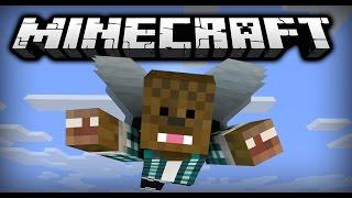 Zbor prin Cerculeţe ! - Minecraft Elytra Flying Challenge