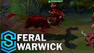 Feral Warwick (2017) Skin Spotlight - League of Legends