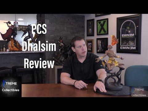 Pop Culture Shock Toys Dhalsim Exclusive Statue Review