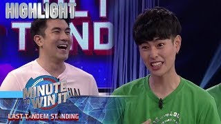 Luis, natawa sa most memorable moment ni Fumiya sa pagsali sa show | Minute To Win It