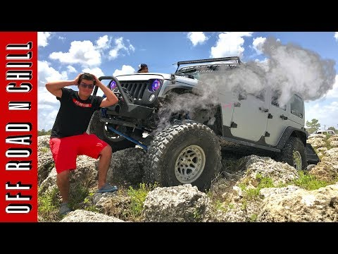 Thumbnail: Jeep Wrangler Destroys Dynatrac Axle , Jeep Wrangler Extreme Off Road