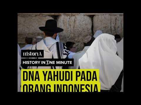 DNA Yahudi Pada Orang Indonesia