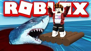 ATTACKED by the GREAT SHARK! | Roblox
