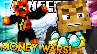 SNEAKY CHEESE - Minecraft Money Wars w/ PrestonPlayz