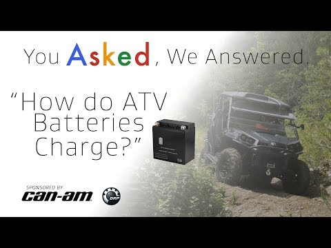 How do ATV Batteries Charge? - YouTube