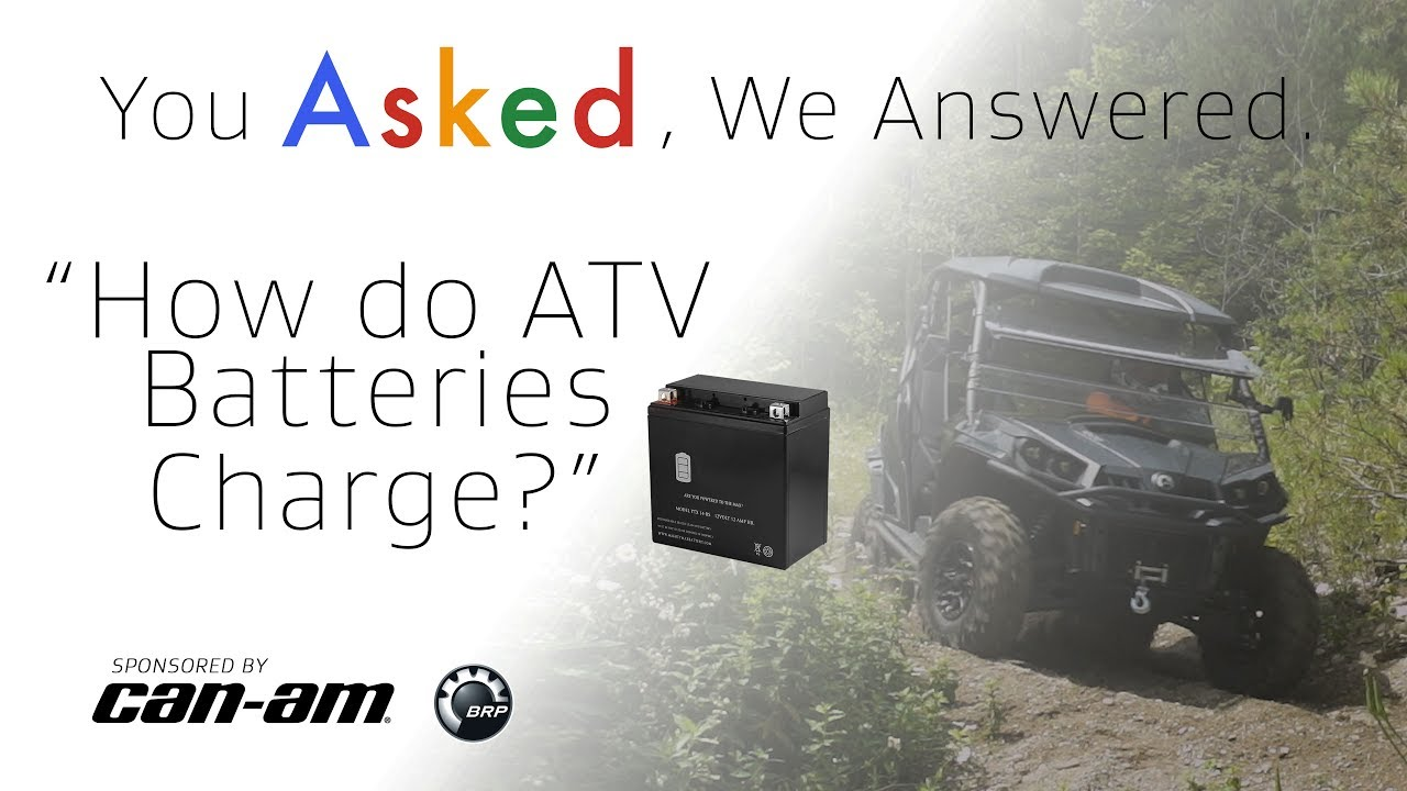 How do ATV Batteries Charge? - Dauer: 3 Minuten, 9 Sekunden