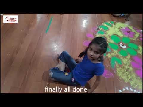 Rangoli competition 2018 || NDMA ||Gulabbagh,purnia||