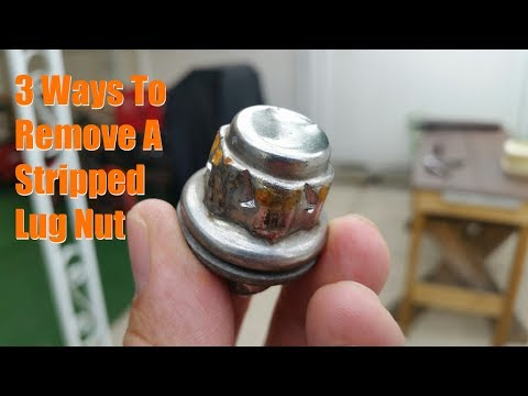 3 Ways to Remove a Stripped Lug Nut