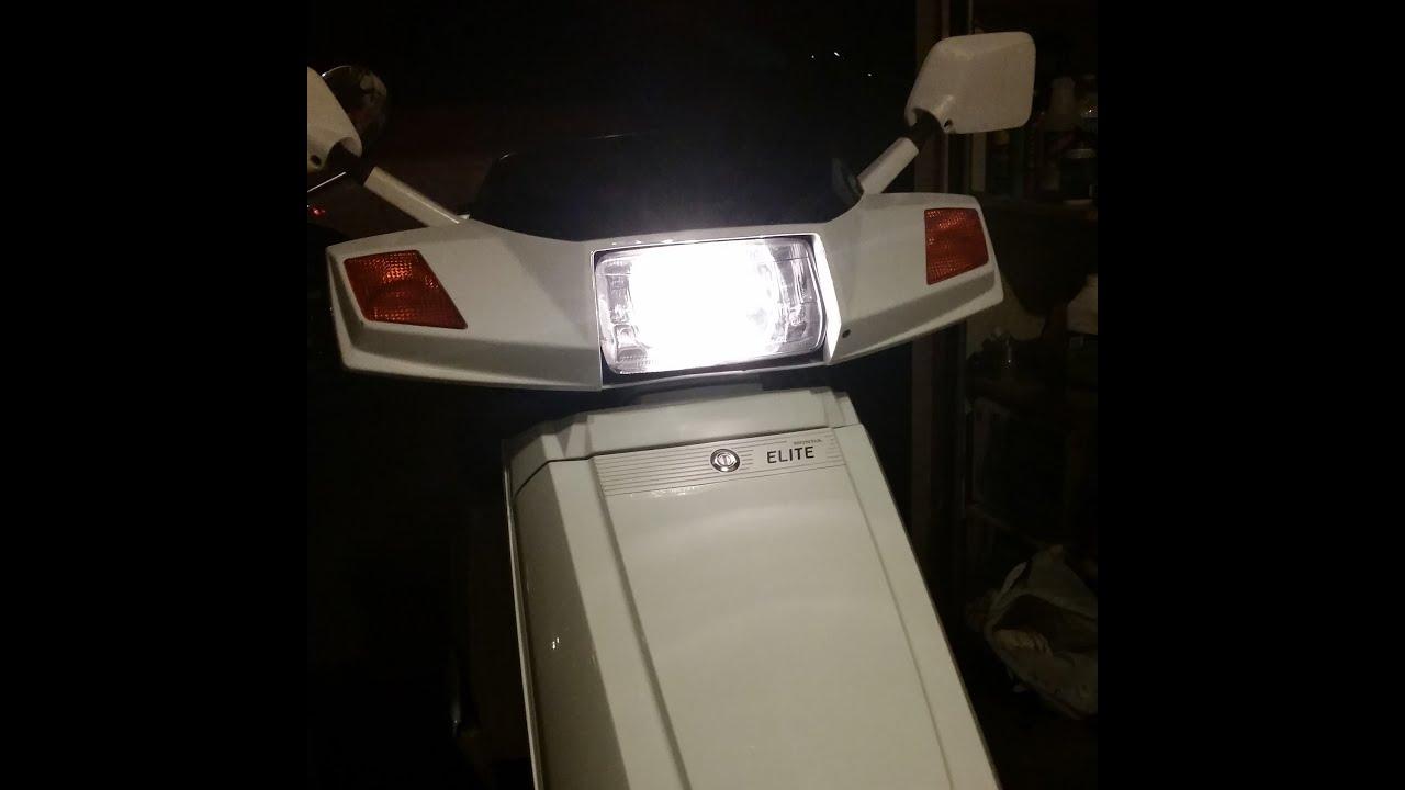 89\u0027 honda elite headlight check and switch fix youtube