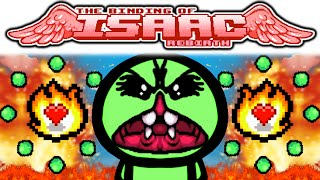 The Binding of Isaac REBIRTH: IPECAC + PYROMANIAC + MONSTRO'S LUNG + ORBITING TEARS