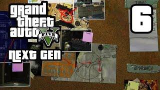 GTA 5 Next Gen Walkthrough Part 6 - Xbox One / PS4 - PLANNING THE HEIST - Grand Theft Auto 5
