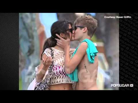 Justin Bieber Birthday Celebration Lips Kissing Bikini
