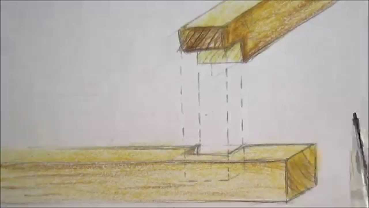 Ensamblaje de madera en estructura de cubierta youtube - Cubiertas de madera ...